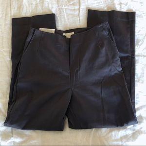 NWT H&m Gray slim high rise pants size 8